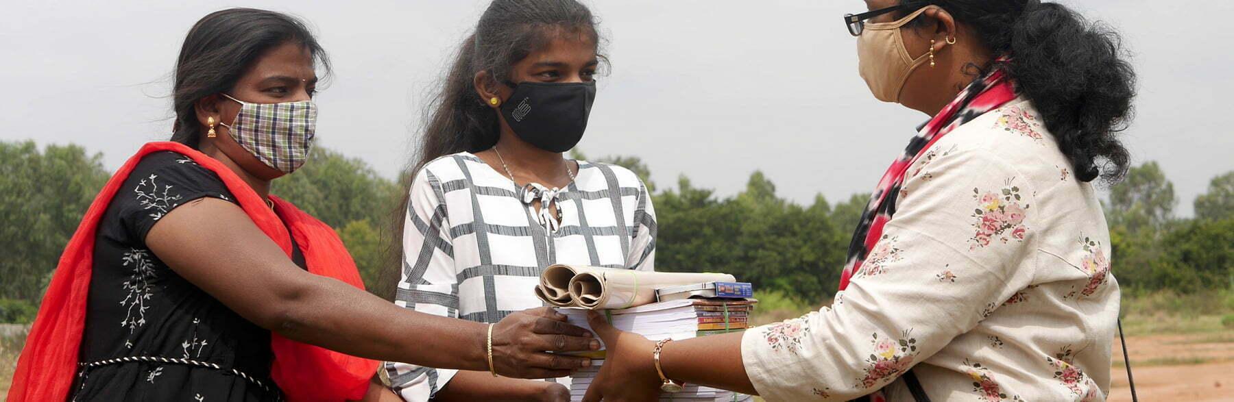 Kavita & Manju – A proud mother celebrates her daughter's graduation